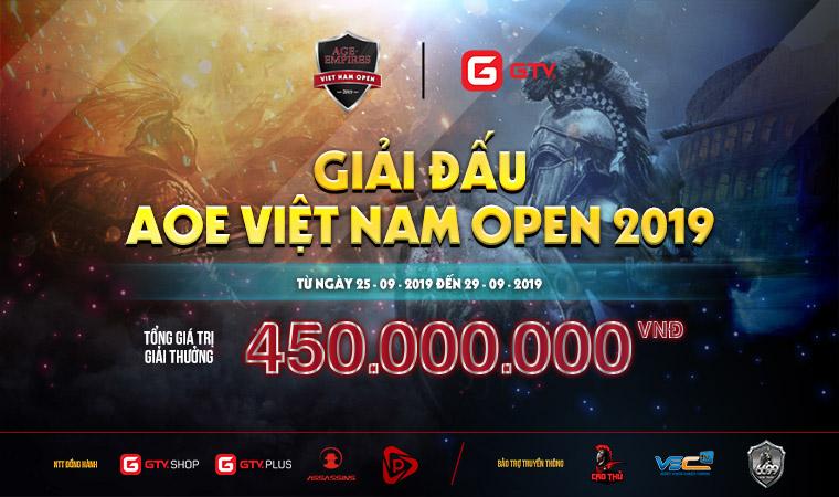 [AoE] Chim Sẻ Đi Nắng góp mặt trong đội hình Showmatch tại giải đấu Việt Nam Open 2019